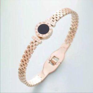 Rose gold Bangle bracelet stainless steel